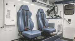 Mobile Stroke Unit Squad Bench Seating